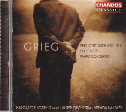 Edvard Grieg / Peer Gynt Suites Nos 1 & 2 / Lyric Suite / Piano Concerto / Margaret Fingerhut / Ulster Orchestra / Vernon Handley
