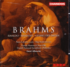 Johannes Brahms / Vocal Music / Danish National Choir & Symphone Orchestra / Gerd Albrecht