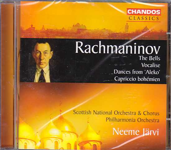 Sergei Rachmaninov / The Bells etc. / Scottish National Orchestra & Chorus / Neeme Järvi
