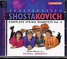 Dmitri Shostakovich / String Quartets 1 & 12 / Sorrel Quartet