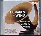 Homages for Wind / RNCM Wind Orchestra / Clark Rundell