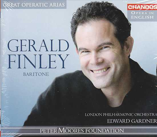 Gerald Finley / Great Operatic Arias in English / London Philharmonic Orchestra / Edward Gardner
