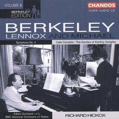 Lennox & Michael Berkeley / The Berkeley Edition Vol 3 / BBC National Orchestra of Wales / Richard Hickox SACD