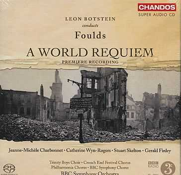 John Foulds / A World Requiem / Leon Botstein SACD