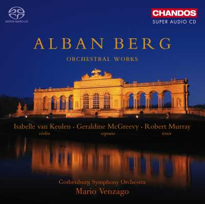Alban Berg / Orchestral Works / Gothenburg SO / Mario Vengazo SACD
