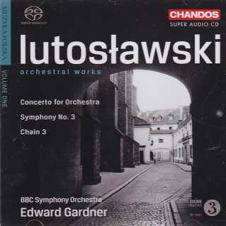 Witold Lutoslawski / Orchestral Works / BBC Symphony Orchestra / Edward Gardner SACD