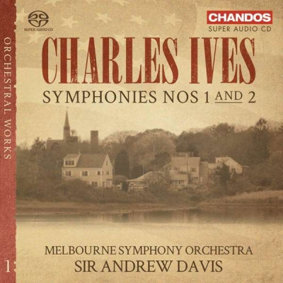 Charles Ives / Symphonies 1 & 2 // Melbourne Symphony Orchestra / Andrew Davis