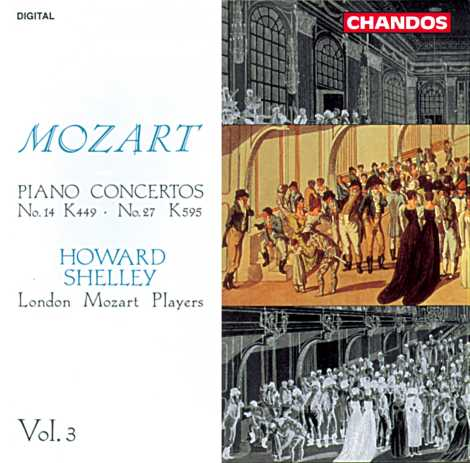 W.A. Mozart / Piano Concertos Vol. 3 / Howard Shelley / London Mozart Players