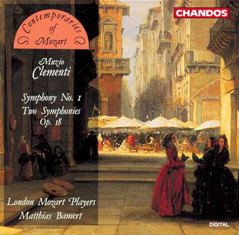 Muzio Clementi / Symphony No. 1 etc. / London Mozart Players / Matthias Bamert
