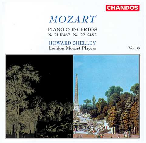 W.A. Mozart / Piano Concertos vol. 6 (nos. 21 & 22)  / Howard Shelley / London Mozart Players