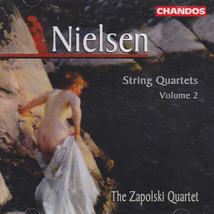 Carl Nielsen / String Quartets Vol. 2 / The Zapolski Quartet
