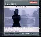 Samuel Barber / Three Essays for Orchestra, etc. / Detroit SO / Neeme Järvi