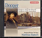 Dopper: Symphonies Nos 3 & 6 / Residentie Orch. The Hague / Bamert