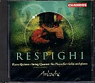 Ottorino Respighi / String Quartet in D Minor etc. / The Ambache