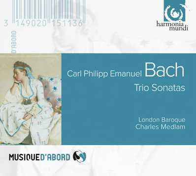 C.P.E. Bach / Trio Sonatas / London Baroque / Charles Medlam