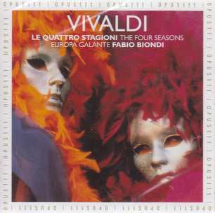 Antonio Vivaldi / The Four Seasons / Europa Galante / Fabio Biondi