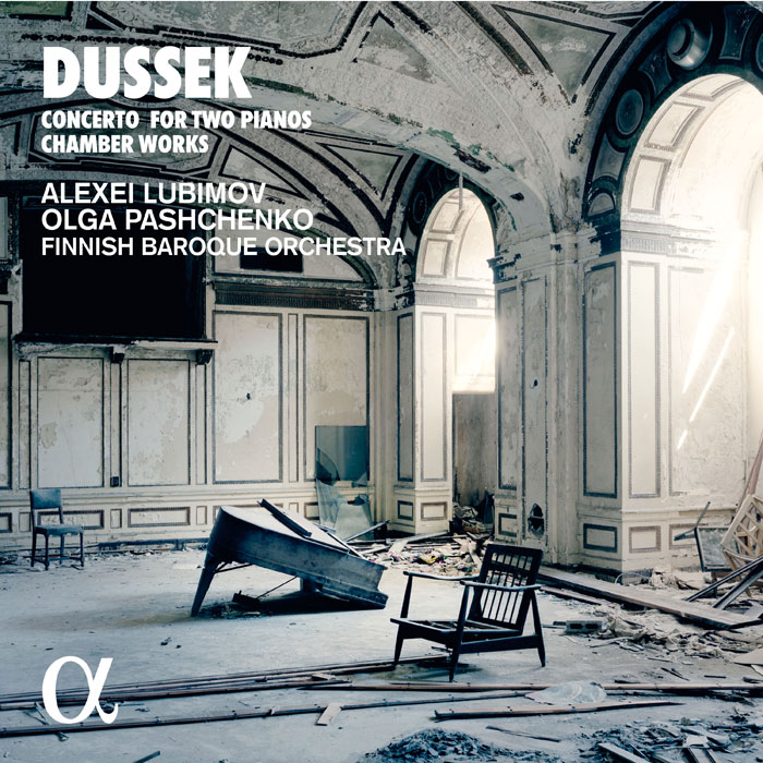 Jan Ladislav Dussek / Concerto for Two Pianos / Chamber Works // Alexei Lubimov / Olga Pashchenko / Finnish Baroque Orchestra / Meta4