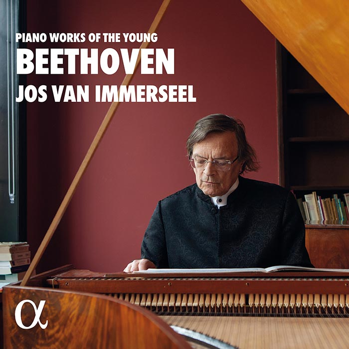 Ludwig van Beethoven / Piano Works of the Young Beethoven // Jos van Immerseel