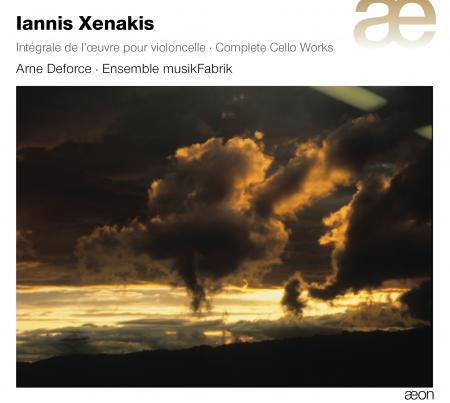 Iannis Xenakis / Cello Works (Complete) / Arne Deforce / Ensemble musikFabrik