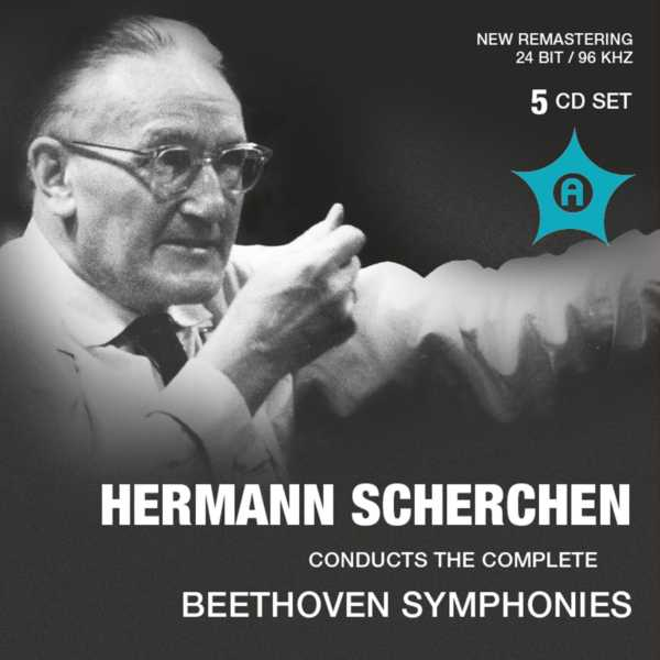 Ludwig van Beethoven / The Symphonies (Complete) / Hermann Scherchen 5CD