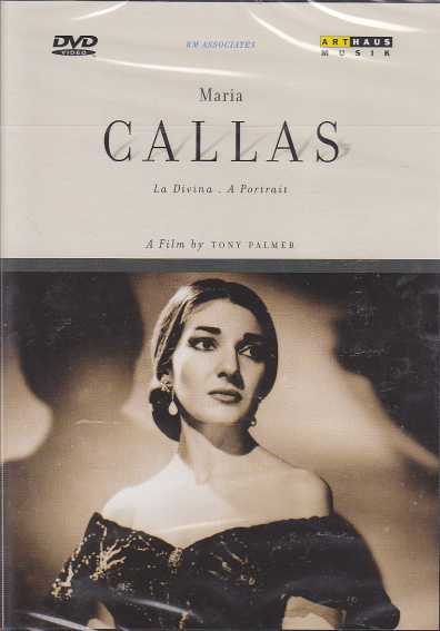 A Portrait of Maria Callas / A Film by Tony Palmer DVD