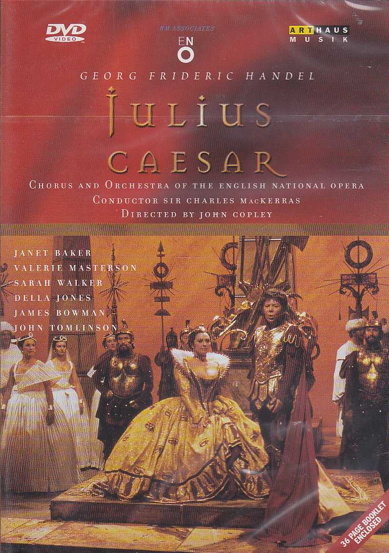 Georg Friedrich Händel / Julius Caesar / The English National Opera / Sir Charles MacKerras DVD