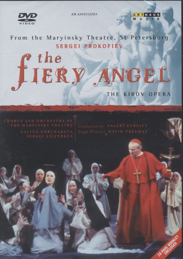 Sergei Prokofiev / The Fiery Angel / Galina Gorchakova / Sergei Leiferkus / Chorus and Orchestra of the Mariinsky Theatre / Valery Gergiev DVD