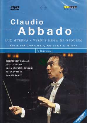 Claudio Abbado / Works By Verdi DVD