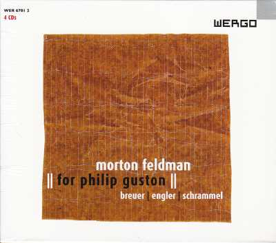 Morton Feldman / For Philip Guston 4CD