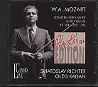 W.A. Mozart / Sonatas for Piano and Violin nos. 21-23 / Oleg Kagan / Sviatoslav Richter