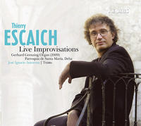 Thierry Escaich / Live Improvisations SACD