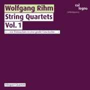 Wolfgang Rihm / String Quartets, vol. 1