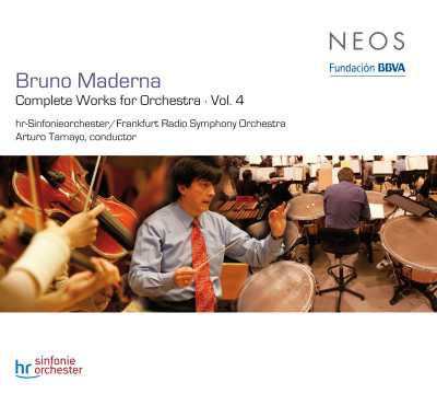 Bruno Maderna / Complete Works for Orchestra Vol. 4 // Arturo Tamayo