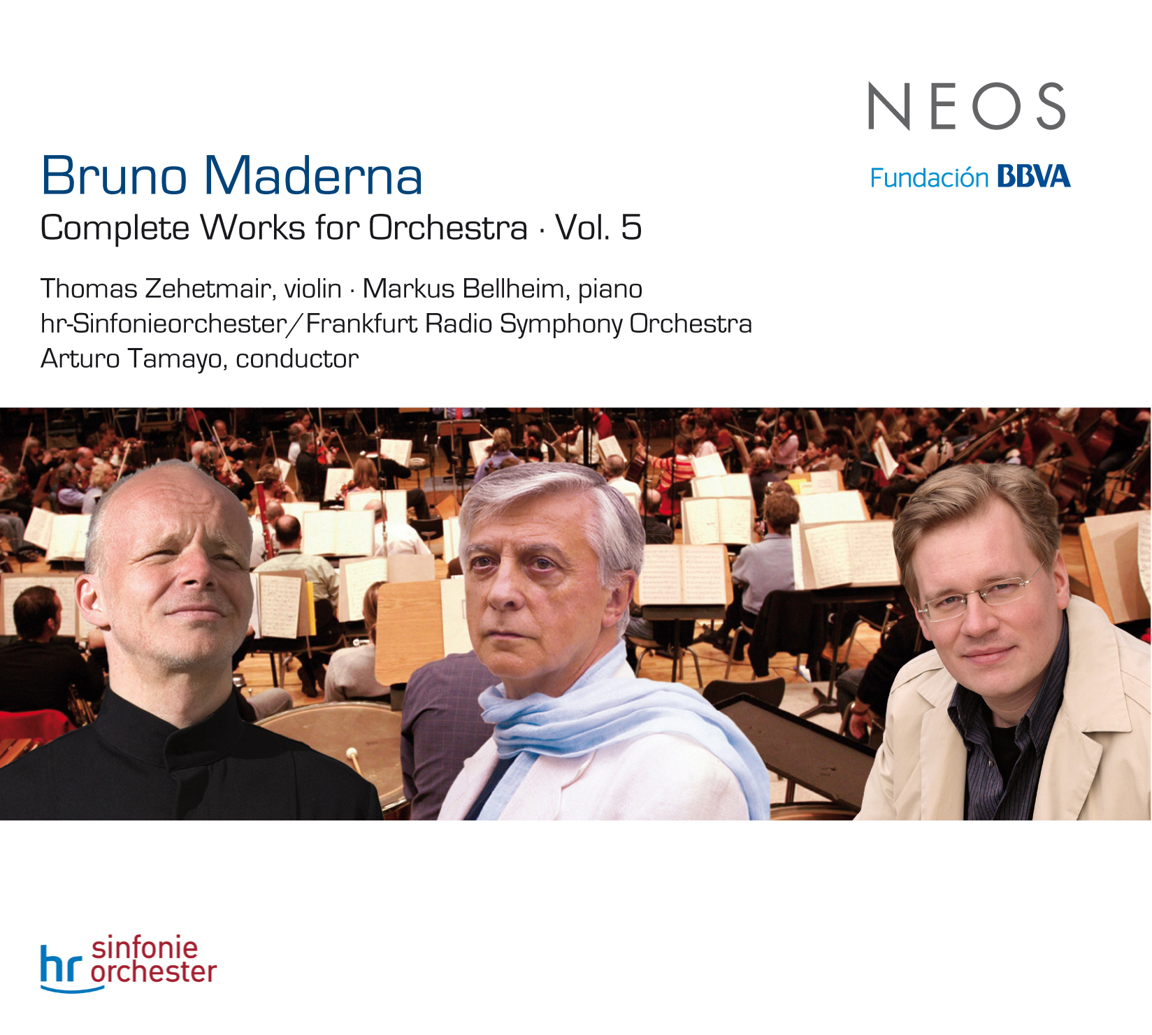 Bruno Maderna / Complete Works for Orchestra, vol. 5 // Arturo Tamayo