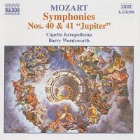 W.A. Mozart / Symphony 40 & 41 / Capella Istropolitana / Barry Wordsworth