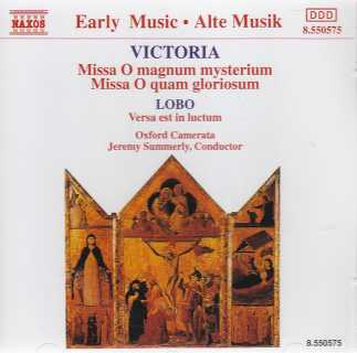 Tomás Luis de Victoria / Masses / Oxford Camerata / Jeremy Summerly