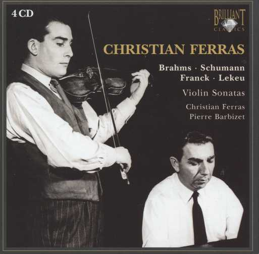 Christian Ferras / Sonatas and Encores 4CD