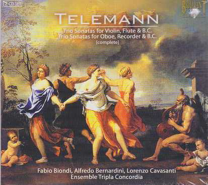 Georg Philipp Telemann / Trios 2CD