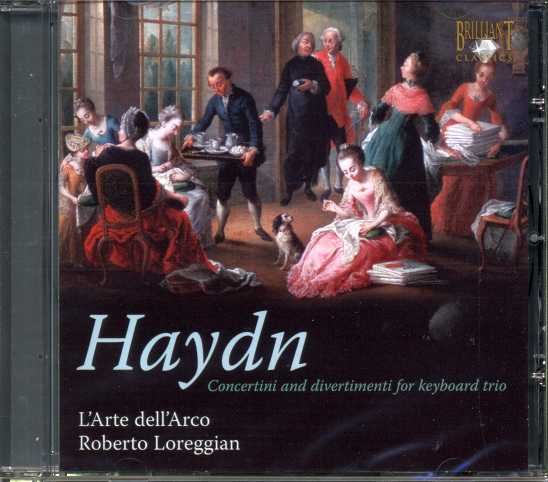 Joseph Haydn / Concertini and Divertimenti for Piano Trio / L'Arte dell'Arco