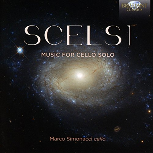 Giacinto Scelsi / Music for Cello Solo // Marco Simonacci