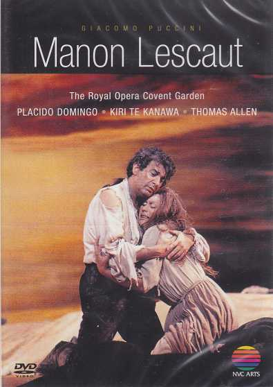 Giacomo Puccini / Manon Lescaut / Placido Domingo / Kiri Te Kanawa / Thomas Allen / The Royal Opera Chorus and the Orchestra / Giuseppe Sinopoli DVD