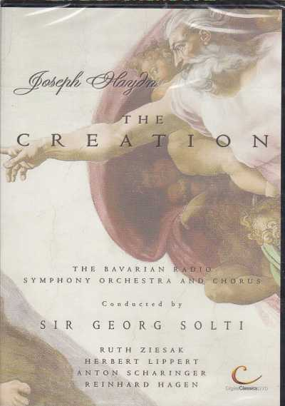 Joseph Haydn / The Creation / The Bavarian Radio Symphony Orchestra and Chorus / Sir Georg Solti DVD