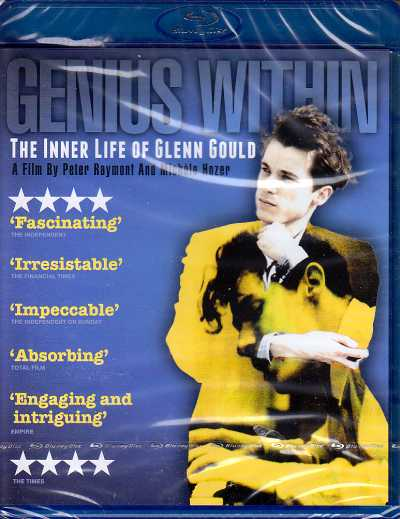 Genius Within: The Inner Life of Glenn Gould Blu-ray Disc
