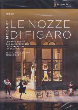W.A. Mozart / Le Nozze di Figaro / Ludovic Tézier / Barbara Frittoli / Orchestra of the Teatro Real Madrid / Jesús López Cobos