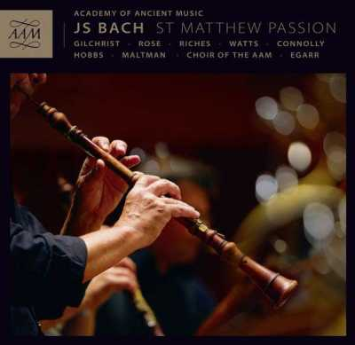 J.S. Bach / St. Matthew Passion (1727 version) // Academy of Ancient Music / Richard Egarra / James Gilchrist / Matthew Rose / Ashley Riches