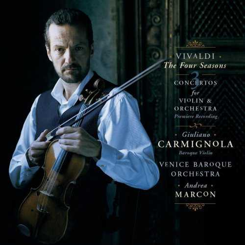 Antonio Vivaldi / The Four Seasons / Giuliano Carmignola / Venice Baroque Orchestra / Andrea Marcon