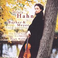 Samuel Barber / Violin Concerto / Edgar Meyer / Violin Concerto / Hilary Hahn