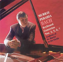 J.S. Bach / Keyboard Concertos Nos. 3, 5, 6, 7 / Murray Perahia / Academy of St. Martin in the Fields