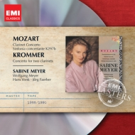 W.A. Mozart / Clarinet Concerto / Franz Krommer / Concerto for Two Clarinets / / Sabine & Wolfgang Meyer / Hans Vonk (EMI Masters)