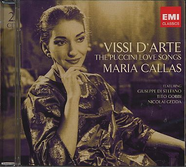 Giacomo Puccini / Vissi d'arte - The Puccini Love Songs / Maria Callas